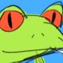 weed frog
