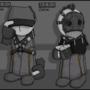 MERC Sniper and Zerker