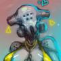 Sassy Bot II - Latex + Holograms