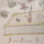 RedBookClock Flash Flood Fanart