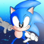 Classic Sonic for the Sonic Villains Collab