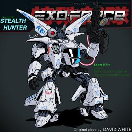 Redraw: Stealth Hunter Battle Machine
