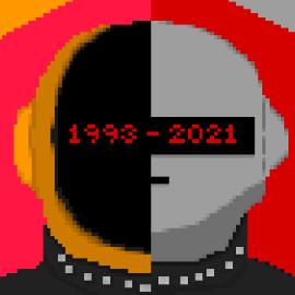 Daft punk: robot revolution
