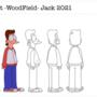 Jack Character Model Sheet