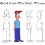 William Character Model Sheet