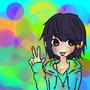 Neon loves colours by Kuroneko-san