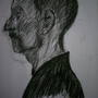Profile of a Man's Head