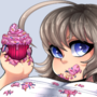 Slobby Cupcakes (Commission)
