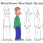 Harrison Character Model Sheet