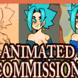 Animated Commissions Are open