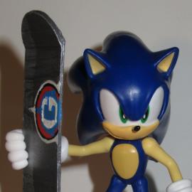 Sonic's City Escape Board for Raspberry Fur