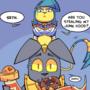 Tomb Cats Comic #3: Snack Snatcher