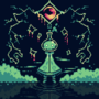 Pixel dailies March 4th 2021 - Opening a crack to a new dimension