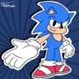 Sonic, sonic the little hedgehog!