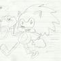 Sonic Hedgehog by thehoopz