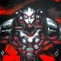 cyborg soldier by Hildebrandt