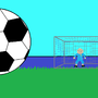 soccer kick by R-4347