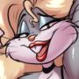Bugs Bunny pin-up