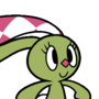 The Rabbit with Checkered Ears