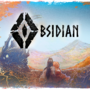 Obsidian, flowers and scarlet-