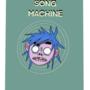 2-D from gorillaz present song machine