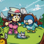 Lil' Hikari and Piplup - Pokemon