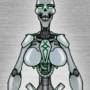 A fairly p*rny skelebot