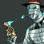 Negator The Spring-loaded man