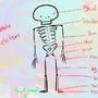 The Cartoon Skeleton by BroMcBroski
