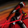 Crimson Lance Assassin by FireOps