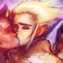 Bathing Apes II
