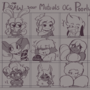 Mutual OCs Drawn Poorly