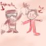I drew me and Tankman