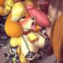 Submissive Isabelle~ (Cow Lingerie)