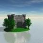 Castle in the Ocean by Bramly-apple