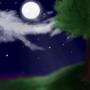 Peaceful Night by Walkingpalmtree