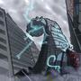 AVAT Giant Robot Worm by ZaneZansorrow