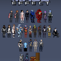 Mass Effect Pixels by Wolfenheim