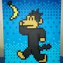 Pixel Aap Painting by aap