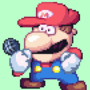mario fnf moment