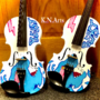 Twin Mr. Beast Violins