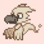 A little ghost bird