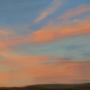 Sunset Over Distant Hills