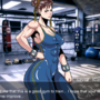 Chun-Li in the gym