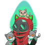 Green Energy Cat Pyro Commission