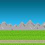 Mountain Range Battle Zone by ChibiKage89