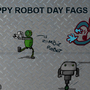 Happy Robot day by Soupcat