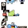 E as in Electronic Elephants by SuperLaserBeamPanda