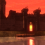 Castle of Flame by samulis