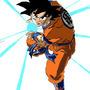 Goku's Kamehameha by LinkFableNova